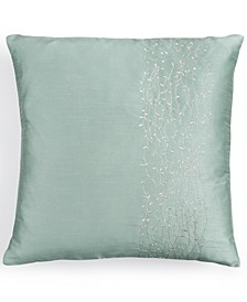 "18"" Square Metal Branches Decorative Pillow"