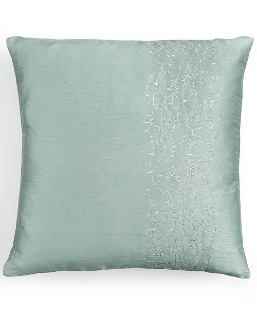 Calvin Klein 40 Square Metal Branches Decorative Pillow Gorgeous Calvin Klein Decorative Pillows