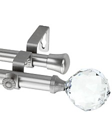 Rod Desyne Faceted Double Curtain Rod Collection