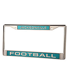Rico Industries Jacksonville Jaguars License Plate Frame