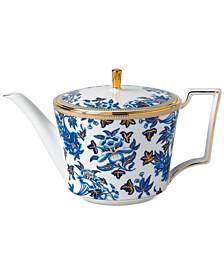 Hibiscus Teapot
