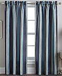 "CLOSEOUT! CHF Peri Faux Silk Stripe 42"" x 84"" Panel"