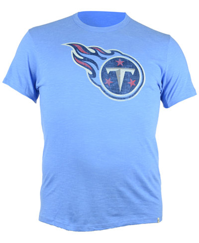 '47 Brand Men's Short-Sleeve Tennessee Titans Logo Scrum T-Shirt