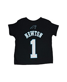 Little Boys' Cam Newton Carolina Panthers Mainliner Player T-Shirt