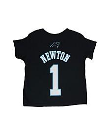 Outerstuff Little Boys' Cam Newton Carolina Panthers Mainliner Player T-Shirt