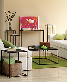 Marina Accent Table Collection, Quick Ship