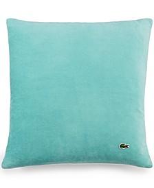 "Velvet Brushed Twill 18"" Square Decorative Pillow"