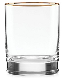 Timeless Gold Double Old Fashioned Glass