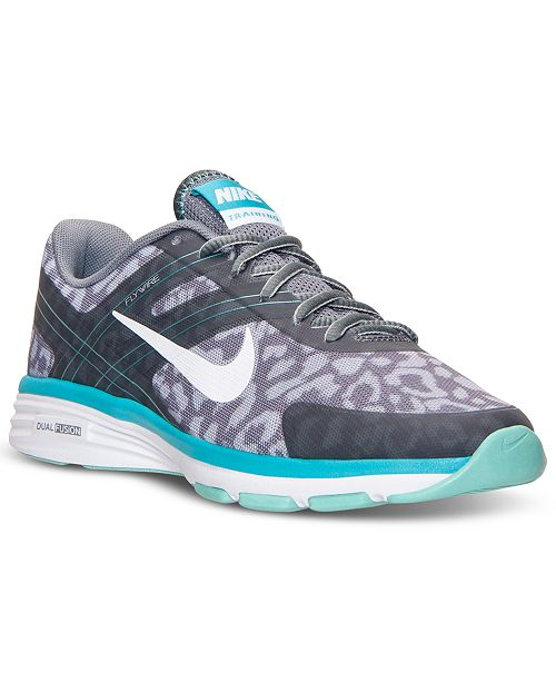 687d7185e9a ... Nike Women s Dual Fusion TR 2 Print Training Sneakers from Finish ...