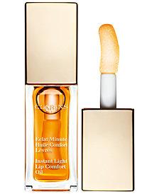 Clarins Instant Light Lip Comfort Oil, 0.1 oz.