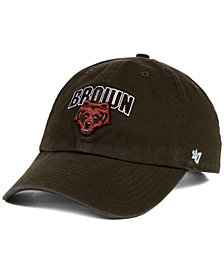 '47 Brand Brown Bears Clean-Up Cap