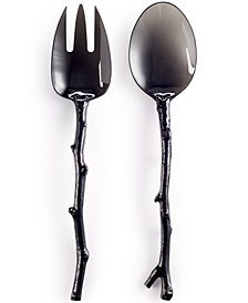 MADHOUSE by Michael Aram Black Salad Server Set