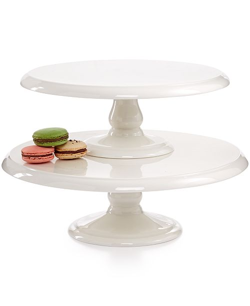 Martha Stewart Collection Closeout! Cake Stands, Set of 2