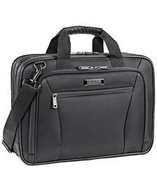 "Kenneth Cole Reaction ""Every Port of Me"" Double Gusset EZ Scan Laptop Portfolio"