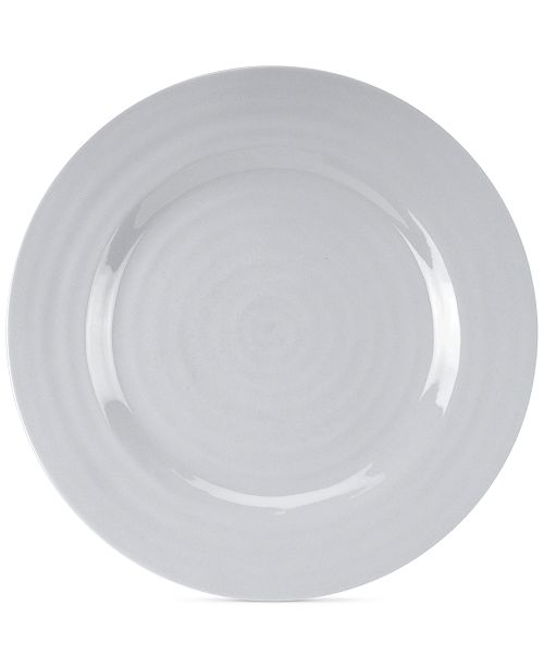 Portmeirion Sophie Conran Grey Dinner Plate