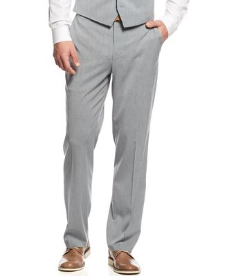 INC International Concepts Men's Light Grey Suit Pants, Created ...