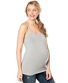 Motherhood Maternity Spaghetti-Strap Tank Top