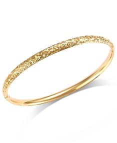 14k Gold Bracelet - Macy's