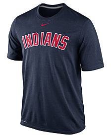 Nike Men's Cleveland Indians Legend Wordmark T-Shirt