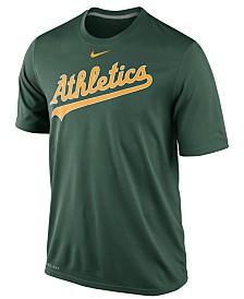 Nike Men's Oakland Athletics Legend Wordmark T-Shirt