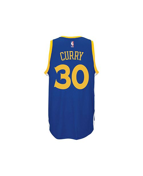 big sale 4006c acb90 adidas Kids' Stephen Curry Golden State Warriors Swingman ...