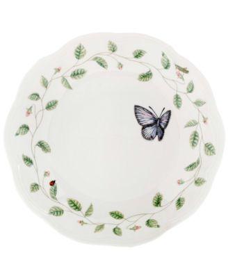 """Butterfly Meadow"" Pasta/Rim Soup Bowl"