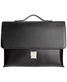Calvin Klein Saffiano Leather Briefcase