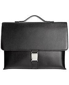 Calvin Klein Saffiano Leather Briefcase