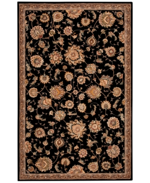 "Nourison Wool & Silk 2000 2360 Black 2'6"" x 4'3"" Area Rug"