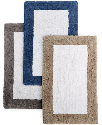 Hotel Collection Color Block Bath Rugs, Only at Macy's - Bath Rugs & Bath Mats - Bed & Bath - Macy's