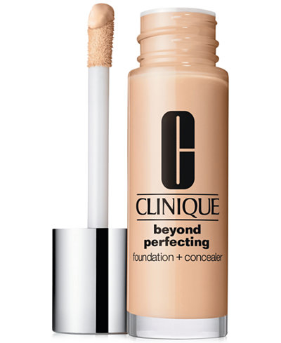 Clinique Beyond Perfecting Foundation + Concealer, 1 oz.