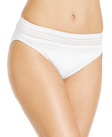Warner's No Pinching No Problems Cotton High Cut Brief RT2091P