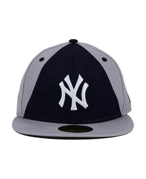 771c5d3261d New Era New York Yankees Split Time 59FIFTY Fitted Cap - Sports Fan Shop By  Lids - Men - Macy s