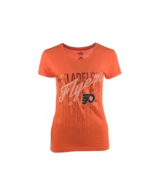 VF Licensed Sports Group Women's Philadelphia Flyers Hip Check T-Shirt