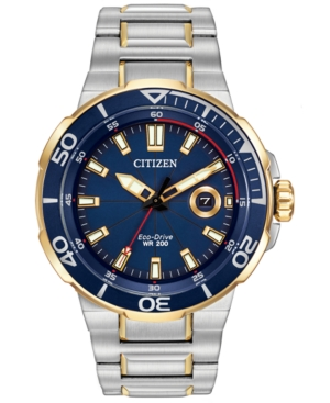 Citizen Men's Eco-Drive Endeavor Two-Tone Stainless Steel