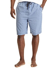 Men's Woven Plaid Shorts