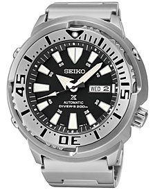 Seiko Men's Automatic Prospex Diver Stainless Steel Bracelet Watch 47mm SRP637