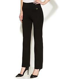 High-Rise Straight-Leg Compression Pants