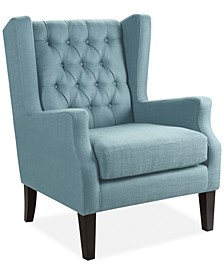 Stedman Fabric Accent Chair, Quick Ship