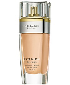 Estée Lauder Re-Nutriv Ultra Radiance Liquid Makeup SPF 15, 1 oz.