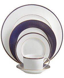 Waterford Lismore Diamond Lapis 5-Pc. Place Setting