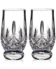 Waterford Lismore 5.5-oz. Footed Tasting Tumbler Pair