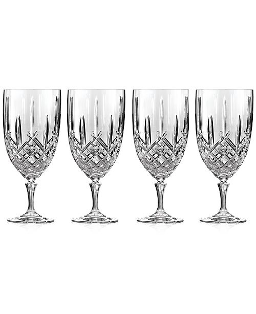 Marquis by Waterford Markham Iced Beverage Glasses, Set of