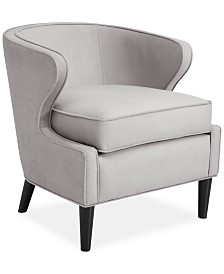 Macaulay Fabric Accent Chair, Quick Ship