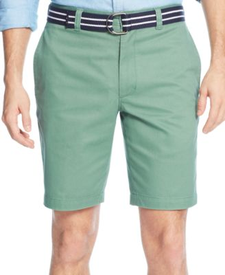 Image of Club Room Men's Estate Flat-Front Shorts, Only at Macy's