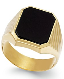Men's Onyx  (3-3/4 ct. t.w.) Ring in 14k Gold