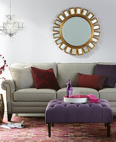 Scarlette Fabric Sofa Living Room Furniture Collection Furniture Macy 39 S