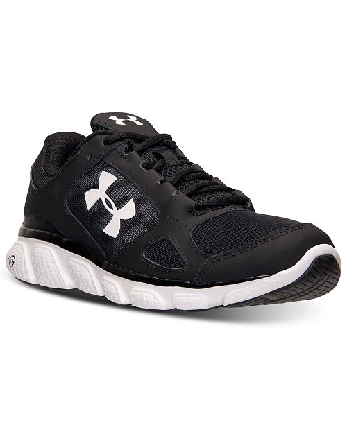 ... Under Armour Men s Micro G Assert V Running Sneakers from Finish ... 0f212bef8d24