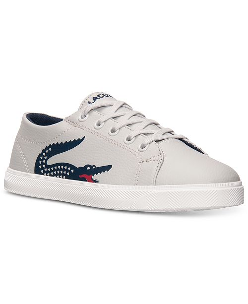 9fe5c8d8616f Lacoste Little Boys  Marcel CLC Casual Sneakers from Finish Line ...