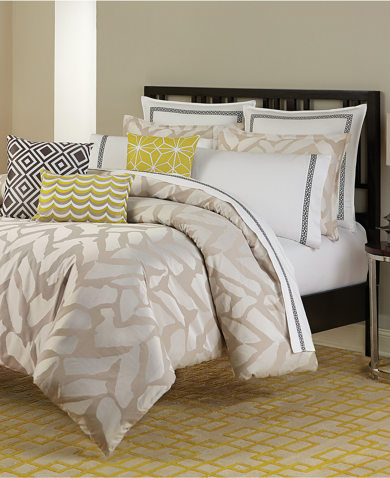 Trina turk bedding - Trina Turk Giraffe Comforter And Duvet Sets Bedding Collections Bed Bath Macy S